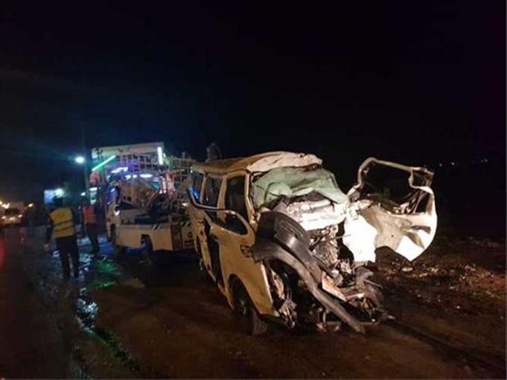 13 سيدة و4 رجال.. ننشر أسماء ضحايا حادث الإسكندرية الصحراوي