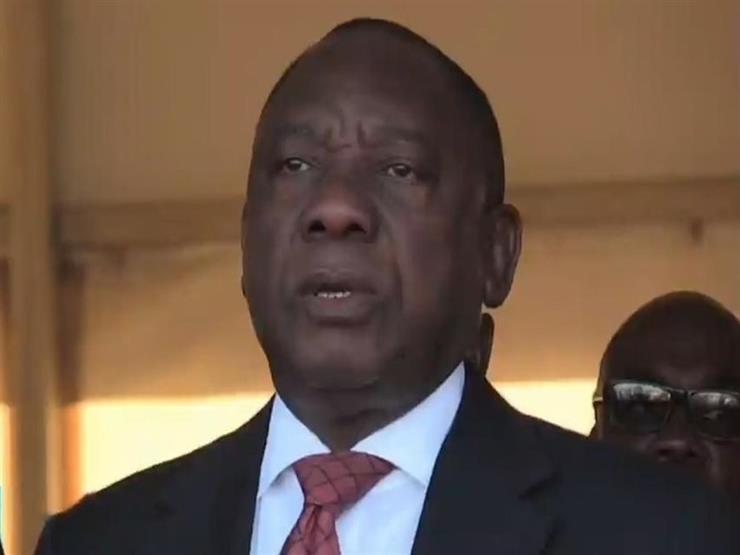 رئيس جنوب إفريقيا يغادر القاهرة بعد لقاء السيسي