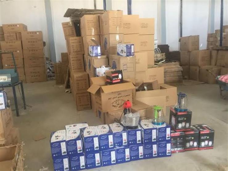 ضبط مصنع أدوات كهربائية دون ترخيص في كفر الشيخ