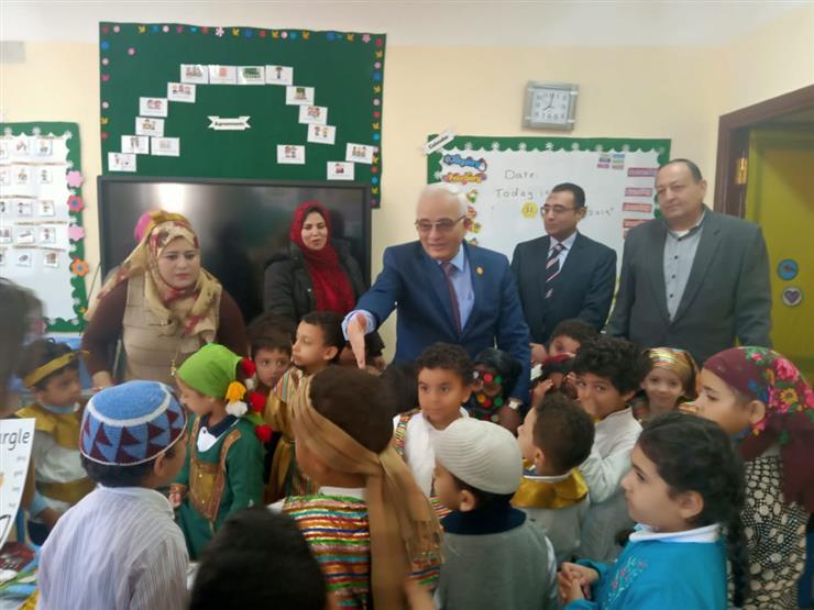 """""""التعليم"""" تتفقد سير العملية التعليمية بالمدرسة الحكومية الدولية بأكتوبر"""
