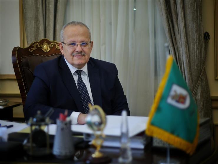 """اعتبارًا من السبت.. """"الخشت"""": منع دخول جامعة القاهرة بدون كمامات"""