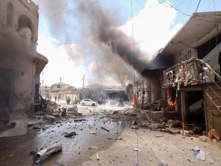 المرصد السوري : 10 قتلى في قصف جوي للنظام على معرة النعمان