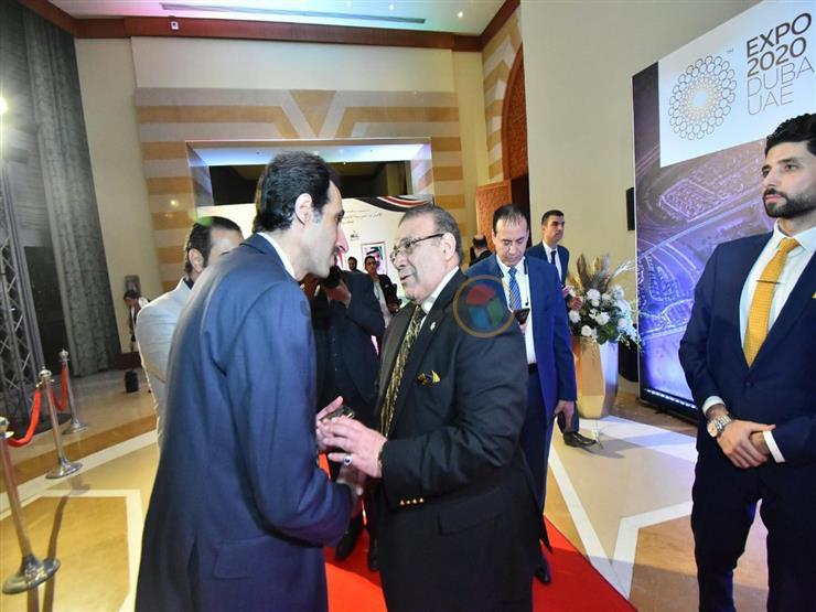 الجلاد يشارك في احتفال سفارة الإمارات بالعيد الوطني الـ48 (صور)