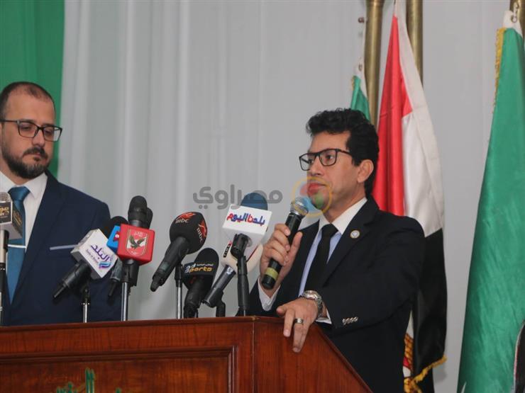 عبر الفيديو كونفرانس.. أشرف صبحي يحضر اجتماع رؤساء الاتحادات الرياضية الدولية
