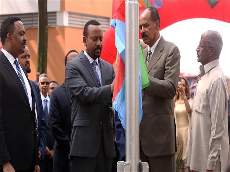 """""""هدية عيد الميلاد"""".. وضع حجر الأساس للسفارة الإريترية بأديس أبابا"""
