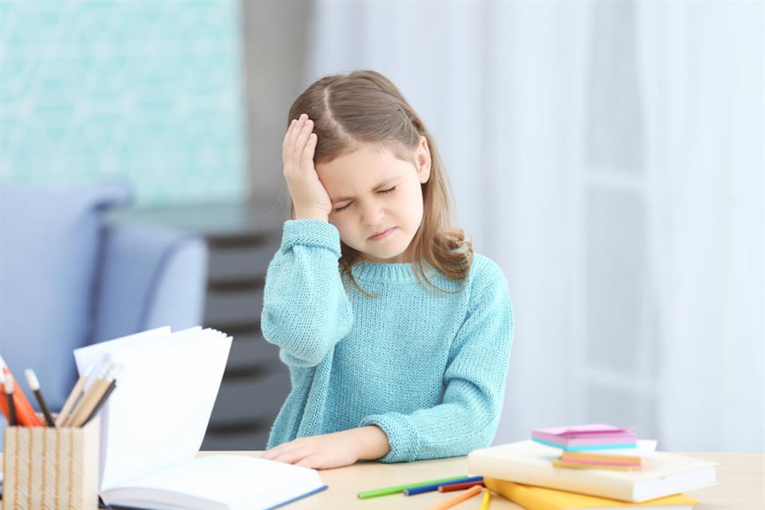 الصداع التوتري الأكثر شيوعًا عند الأطفال.. طرق للقضاء عليه