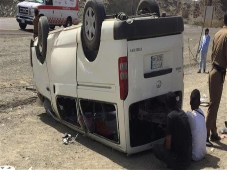 إصابة 4 أشخاص في حادث سير بالشرقية