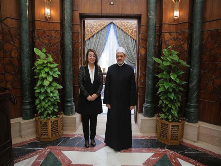 شيخ الأزهر يتلقي غادة والي: اختيارها للمنصب الأممي تقدير لمكانة مصر