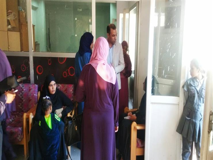 وكيل وزارة الصحة يتابع أعمال المبادرة الرئاسية لصحة المرأة ف   مصراوى