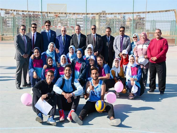 رئيس جامعة السويس يشهد ختام مهرجان التميز الرياضي الثالث   مصراوى