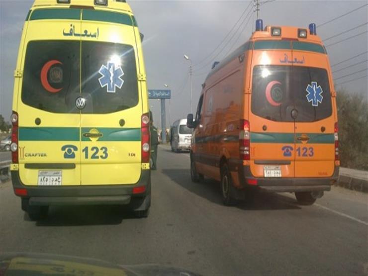 مصدر بالإسعاف: 11 مصابا في حادث تصادم بدائري القاهرة الجديدة