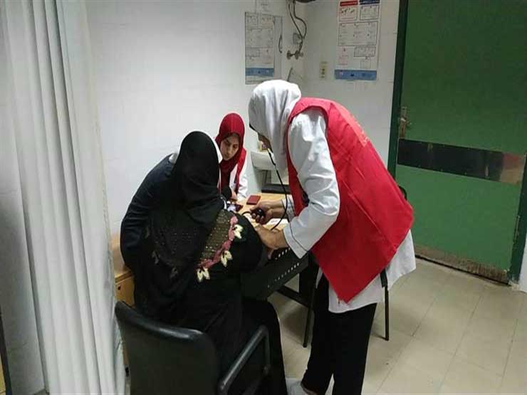 فحص 181 سيدة ضمن مبادرة صحة المرأة بالمنوفية