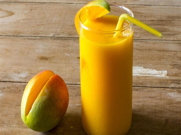 طريقة تحضير عصير الليمون بالمانجو