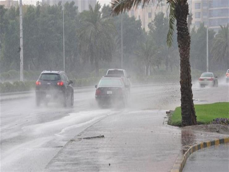 أمطار متوسطة على مراكز ومدن الغربية