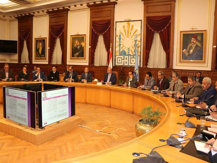 محافظ القاهرة يلتقي أعضاء مجلس النواب عن المنطقة الشرقية
