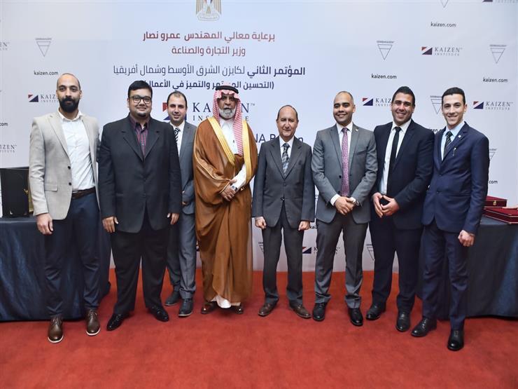 وزير الصناعة يشارك في فعاليات المؤتمر الثاني لكايزن الشرق الأوسط