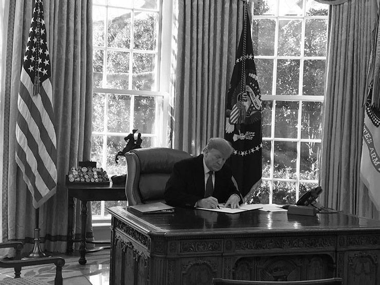"""بيان ديمقراطي عن إعلان ترامب الطوارئ: """"رئيس محبط ينتزع السلطة"""""""