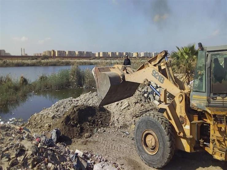 """""""الري"""": إزالة 14 حالة تعد على نهر النيل في القليوبية والبحيرة"""