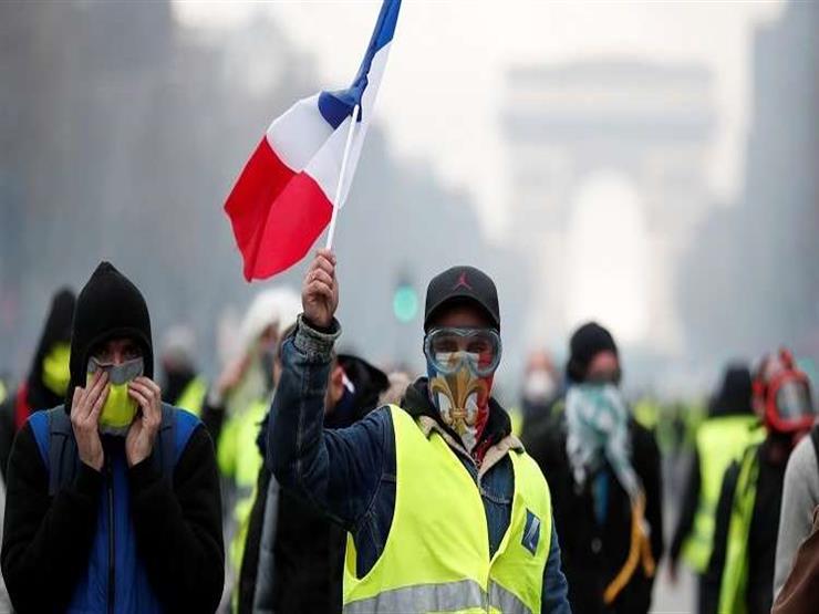 """في السبت الـ14.. محتجو """"السترات الصفراء"""" يتظاهرون في فرنسا"""