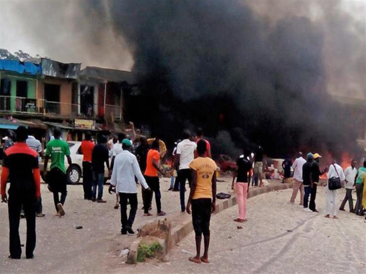 مقتل 11 شخصا في تفجير انتحاري بينهم منفذوه في نيجيريا