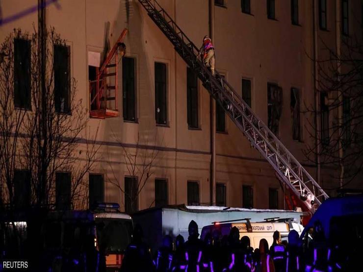 بالفيديو- انهيار مبنى جامعي في روسيا وإنقاذ العشرات من الطلاب