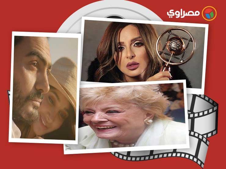النشرة الفنية  الحالة الصحية لنادية لطفي وشرط محمد رمضان لإقامة حفل غنائي