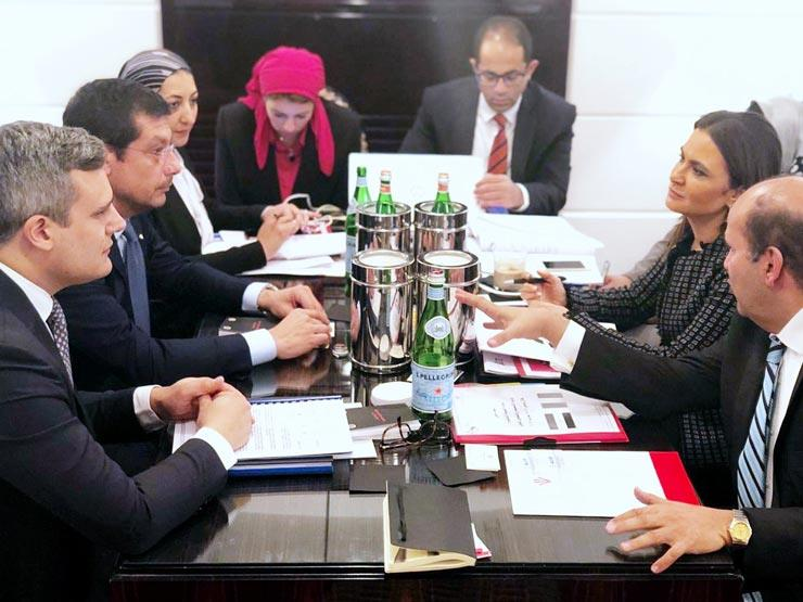 سحر نصر: شركات إيطالية ترغب في توسيع استثماراتها في مصر