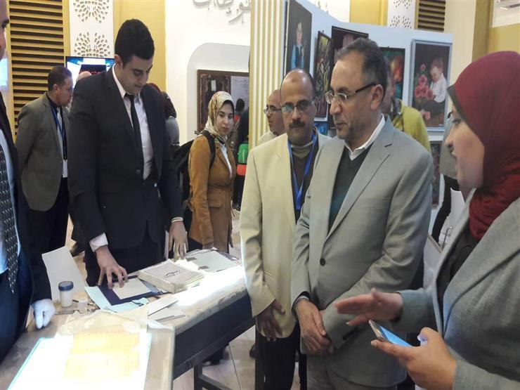 رئيس مجمع البحوث الإسلامية يتفقد جناح الأزهر بمعرض الكتاب