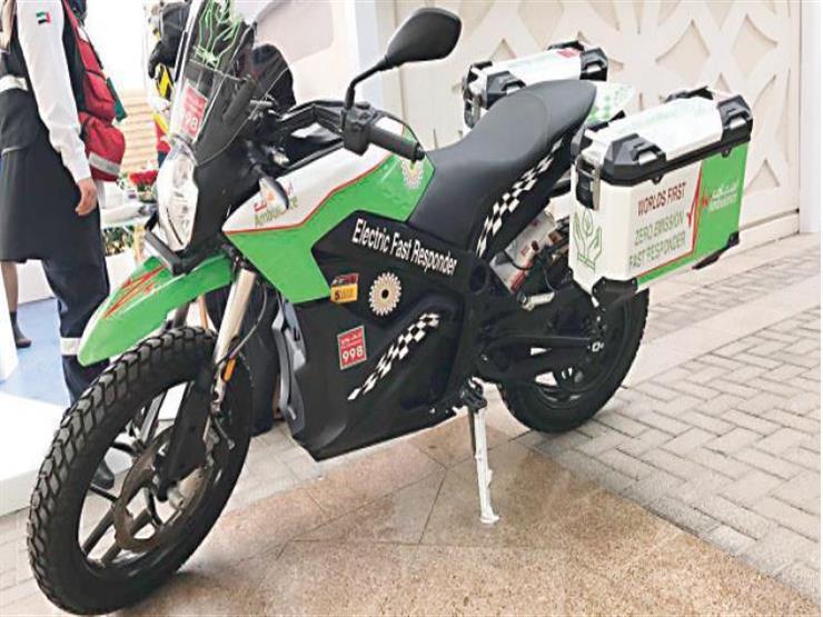 دبي تطلق أول دراجة بالكهرباء لسرعة إسعاف المواطنين