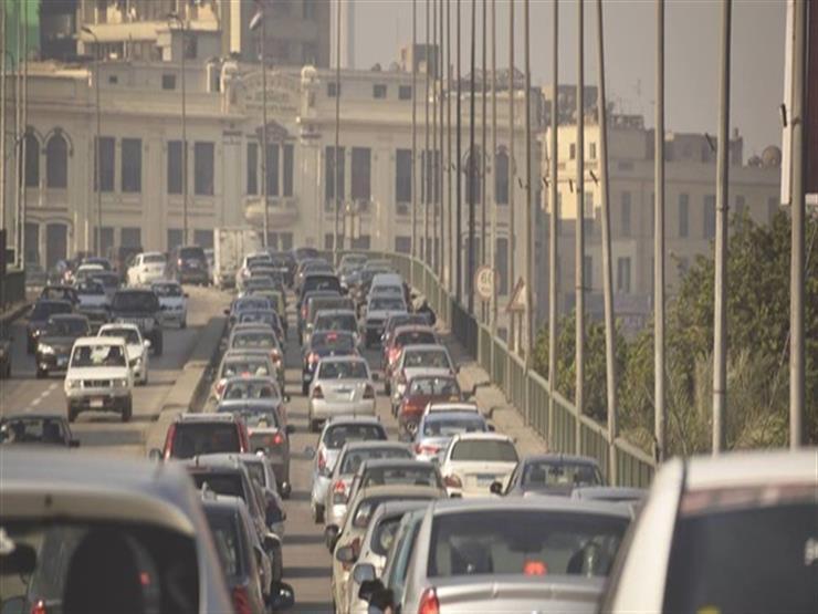النشرة المرورية.. كثافات مرتفعة بمعظم شوارع وميادين القاهرة والجيزة