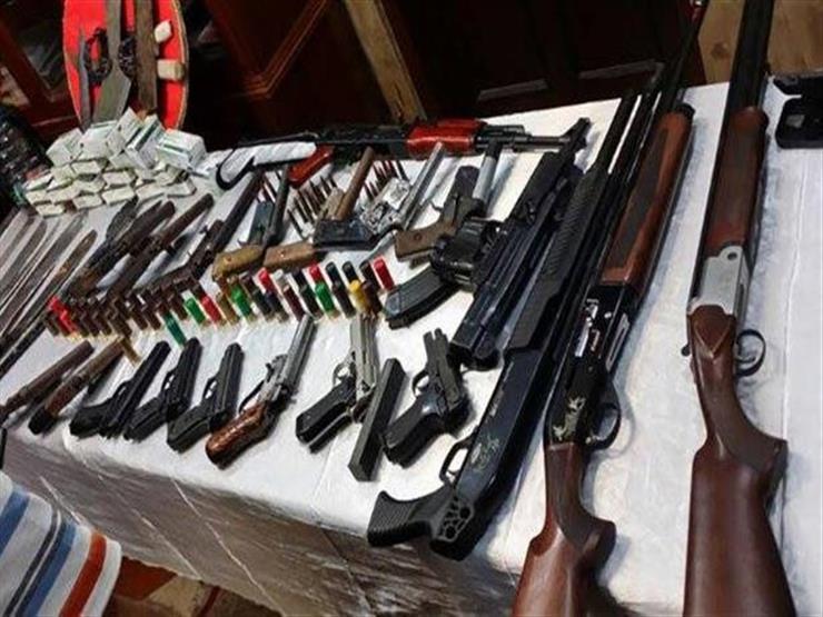 أمن الجيزة يضبط 47 متهما بالاتجار في المخدرات و12 فرد خرطوش