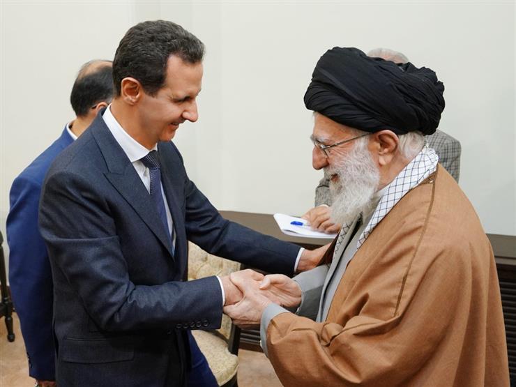 الأسد يزور إيران لأول مرة منذ بدء الأزمة السورية
