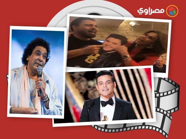 النشرة الفنية| إصابة حماقي وعزاء مصطفى الشامي والقائمة الكاملة للأوسكار