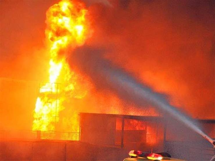 السيطرة على حريق بالقرب من مبنى الإذاعة والتلفزيون في الإسماعيلية