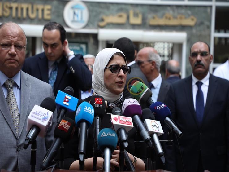وزيرة الصحة تؤكد حرص مصر على تنفيذ مشروع تصنيع البلازما