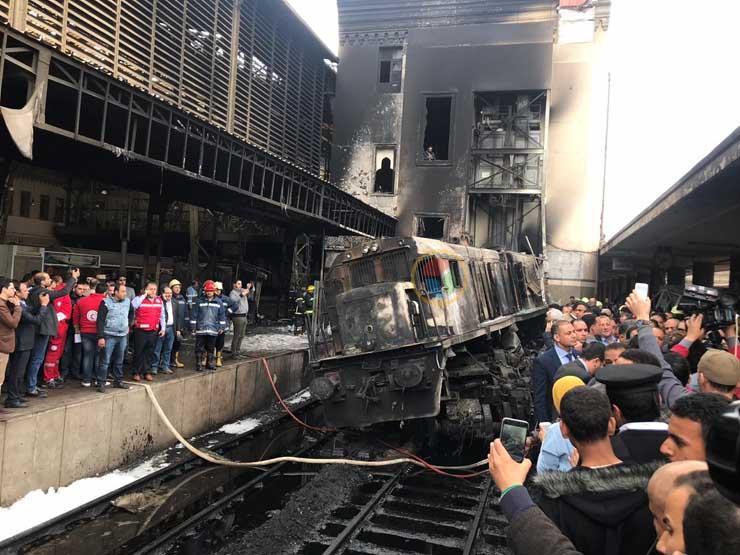 النائب العام يكشف أسباب حادث قطار محطة مصر