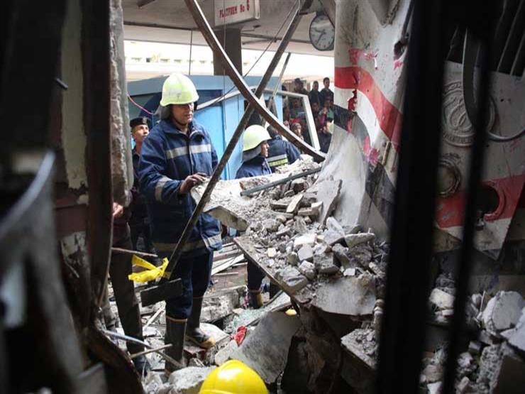 """كانت حرب"".. مشاهد من إنقاذ ضحايا حادث ""محطة مصر"""