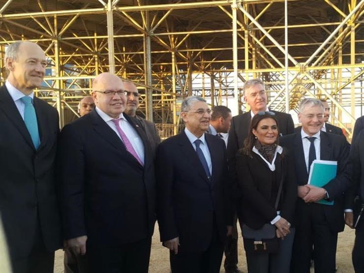وزير الاقتصاد الألماني يقوم بجولة في العاصمة الإدارية الجديدة