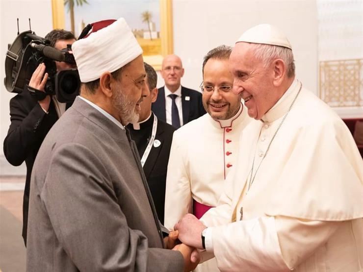 """قبل """"لقاء الأخوة الإنسانية"""".. 4 لقاءات تاريخية بين شيخ الأزهر وبابا الفاتيكان"""