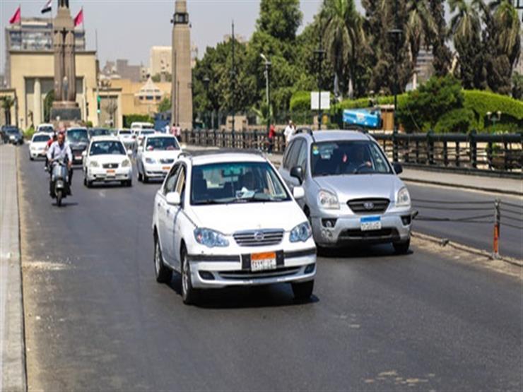 """""""المرور"""": سيولة مرورية بالطرق والمحاور داخل وخارج القاهرة"""