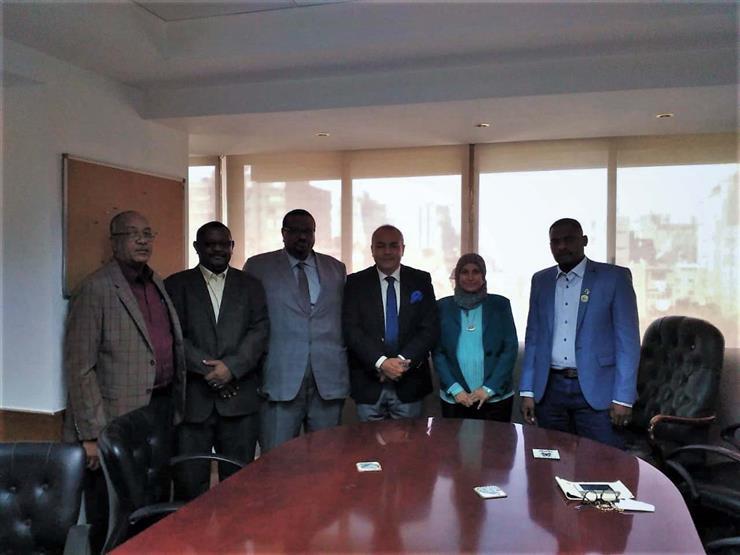 هيئة تنمية الصادرات تبحث مع اتحاد المقاولين السوداني تعزيز التعاون