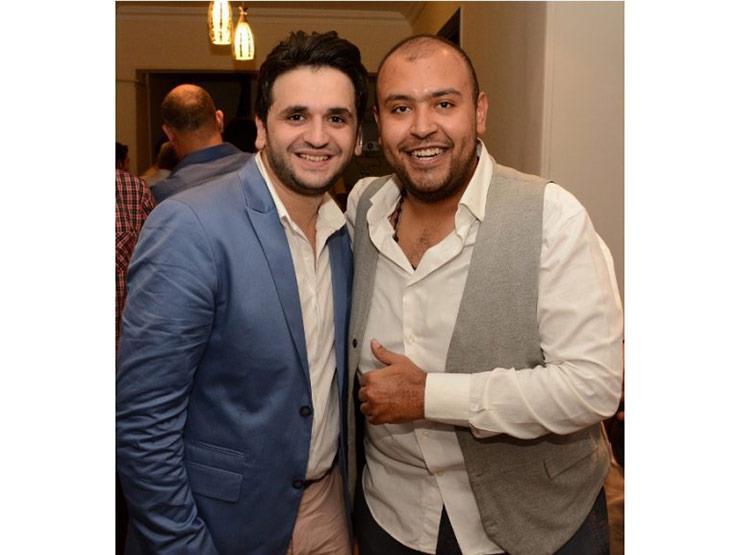 "بالصور..هكذا احتفل نجوم مسرح مصر بـ""مصطفى بسيط"""
