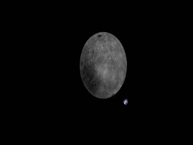 صورة مذهلة لكوكب الأرض من خلف القمر