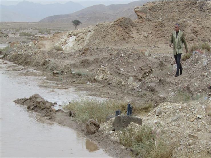 سيول خفيفة في شمال سيناء دون وجود خسائر مادية