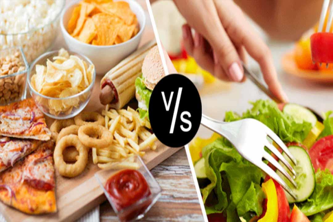 ماذا يحدث لجسمك إذا تناولت وجبات سريعة لمدة أسبوعين؟