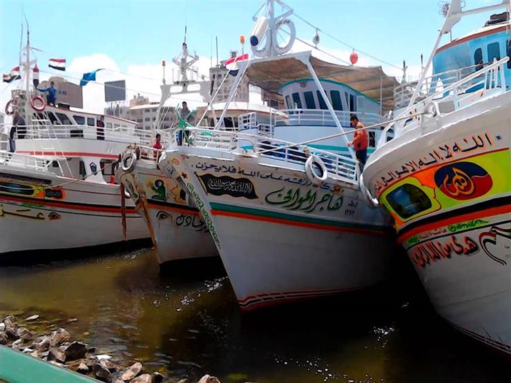 انتظام حركة الصيد في دمياط بعد تحسن الأحوال الجوية