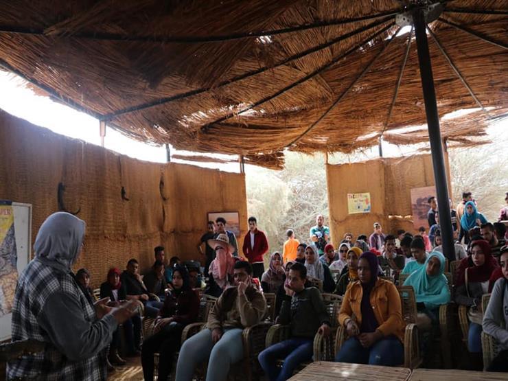 """""""البيئة"""" تشارك في معسكرات لـ500 شاب وفتاة بأسوان وبورسعيد"""