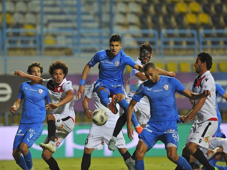 ثنائي الزمالك مهدد بالإيقاف أمام الأهلي في مباراة المقاولون