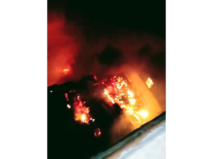 السيطرة على حريق في مصنع بلاستيك بشبرا الخيمة