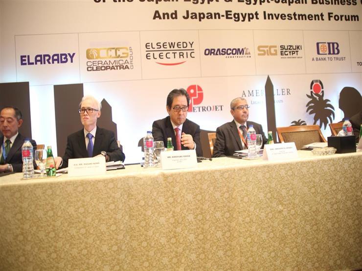 رئيس مجلس الأعمال المصري الياباني: ندعم مصر بالتوسع في تقديم منح لا ترد